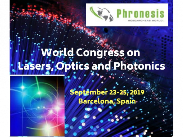 World Congress on Lasers and Photonics, Barcelona, Spain