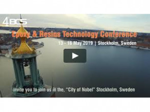 Epoxy and Resin Technology Conference with the invited report in Stockholm, Sweden