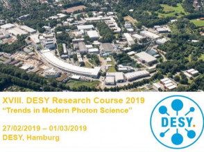 Researcher from ISSP UL participates at the DESY Research course 2019
