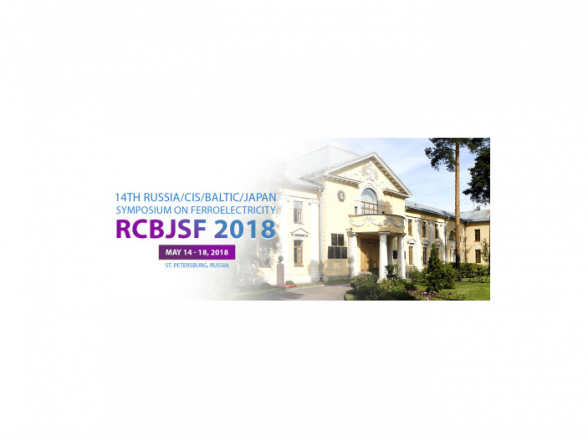 14th Symposium on Ferroelectricity RCBJSF 2018
