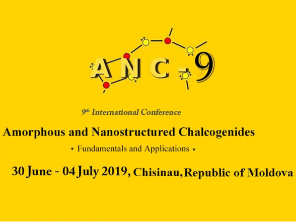 Participation in the 9th International Conference on Amorphous and Nanostructured Chalcogenides