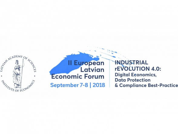 The II European Latvian Economic Forum INDUSTRIAL rEVOLUTION 4.0