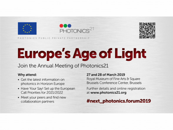 ISSP UL participates in Photonics Public Private Partnership Annual Meeting