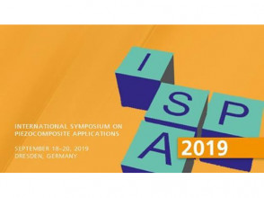 MATERIZE sales unit participates in the International Symposium on Piezocomposite Applications ISPA 2019